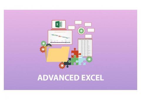 Advanced excel training in Marathahalli